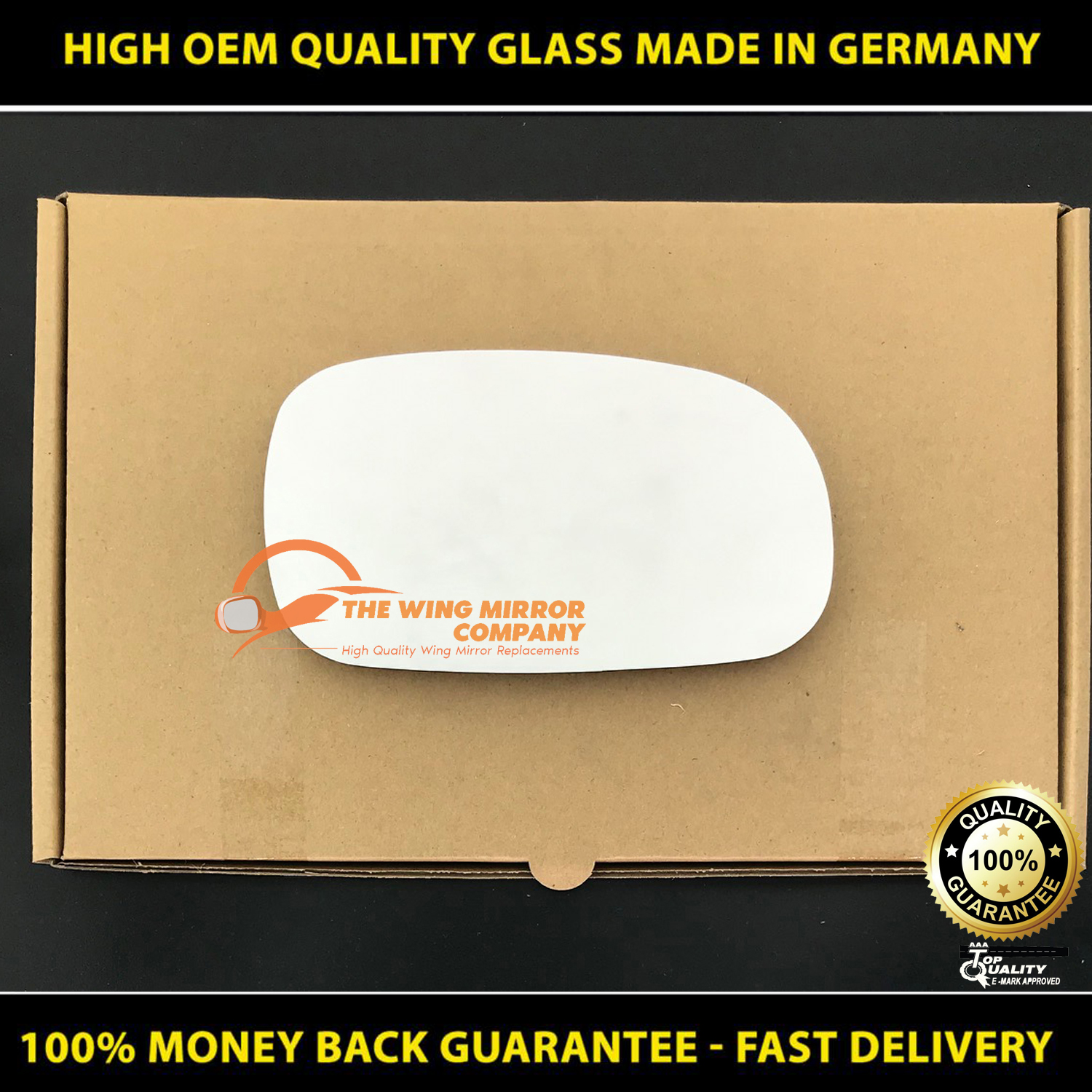 Wing Mirror Glass For Lexus RX 300-330-350-400 Fits to reg 2003 To 2008 LHS