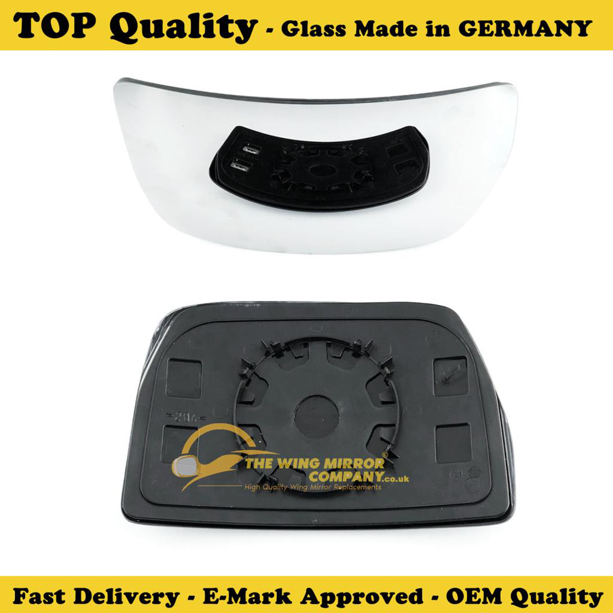 Iveco Daily Blind Spot Wing Mirror Glass Non Heated Amp Base