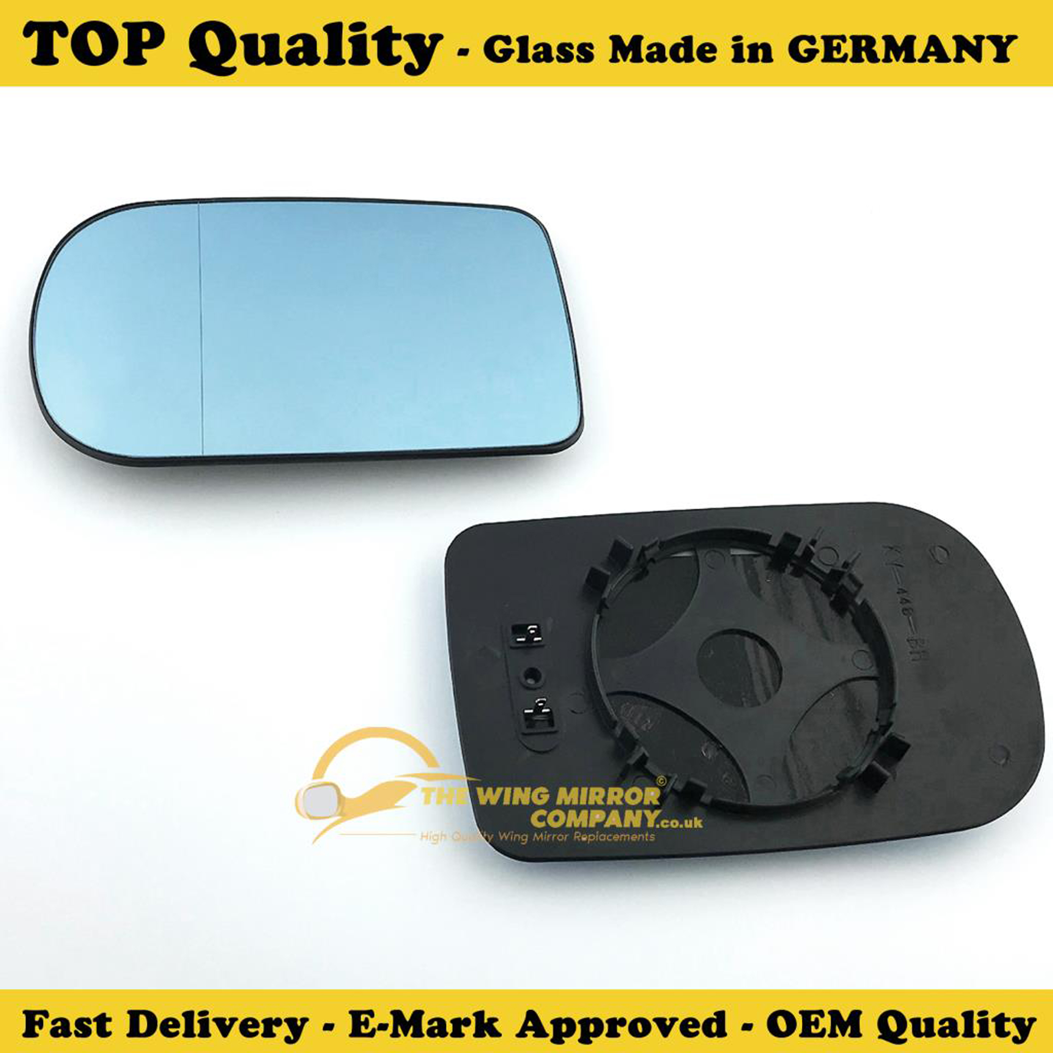BMW 7 Series Clip On Heated 1993 to 2001 Wing Mirror LEFT HAND Passenger Side