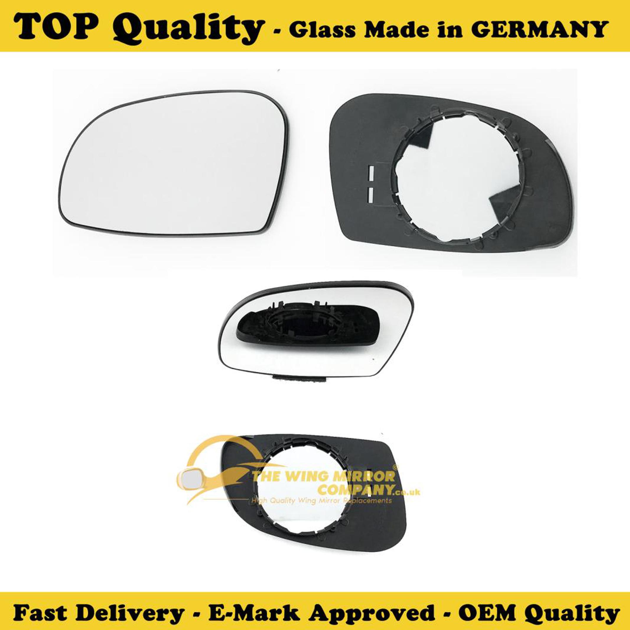 1995 to 2003 left Side Citroen Saxo Door Wing Mirror Replacement Glass