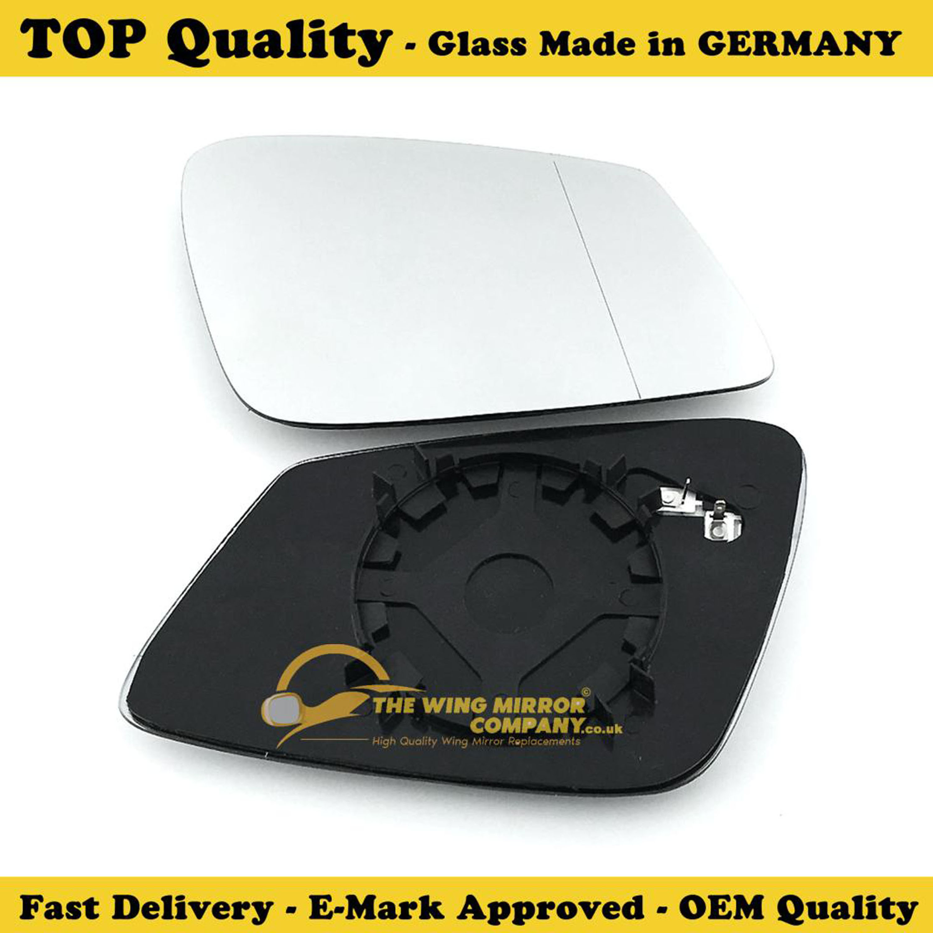 Vauxhall Zafira 2005-2012 Drivers Side Stick On Replacement Mirror Glass