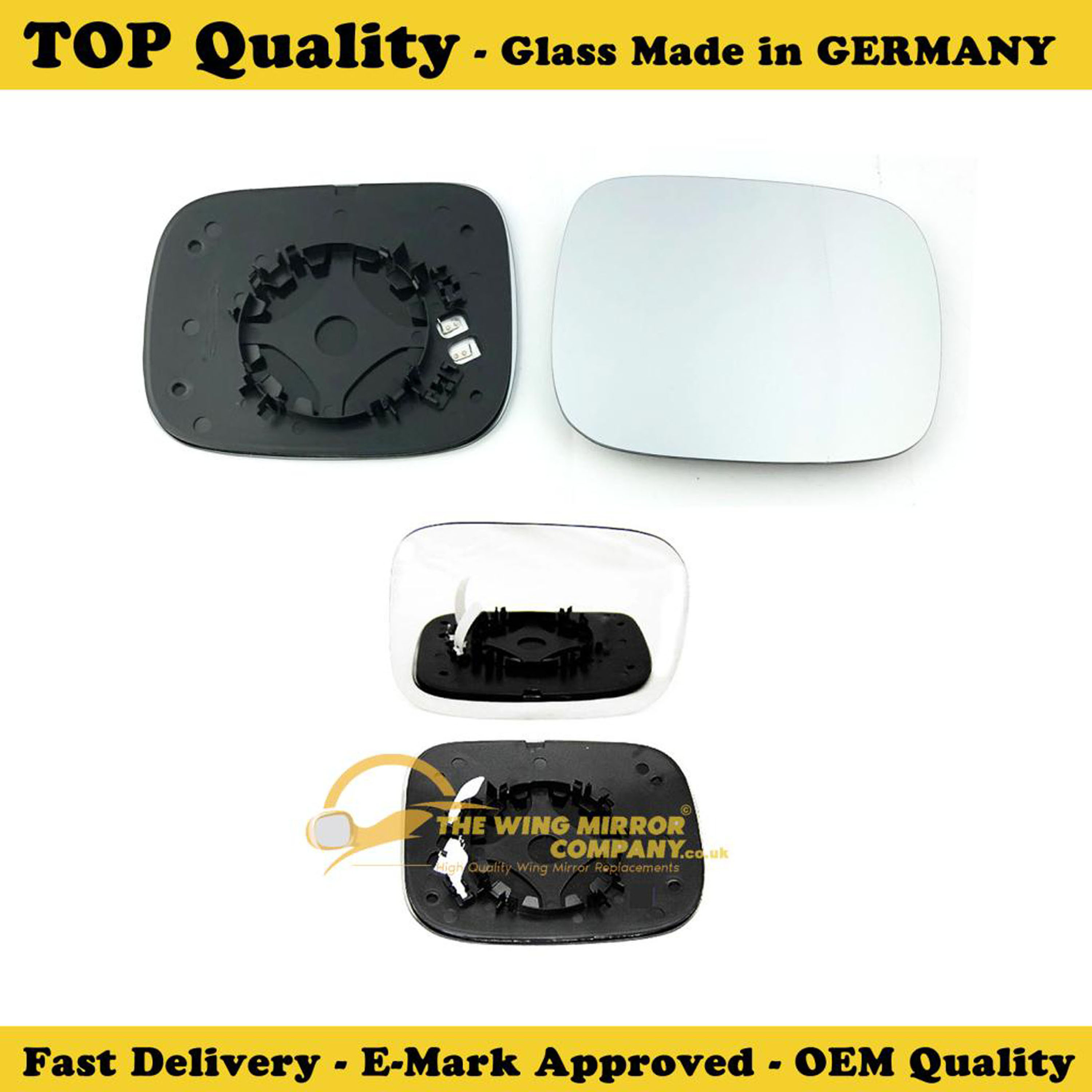 Volvo Xc70 Mirror: Wing Mirror Glass , Heated Base, RHS , Fits
