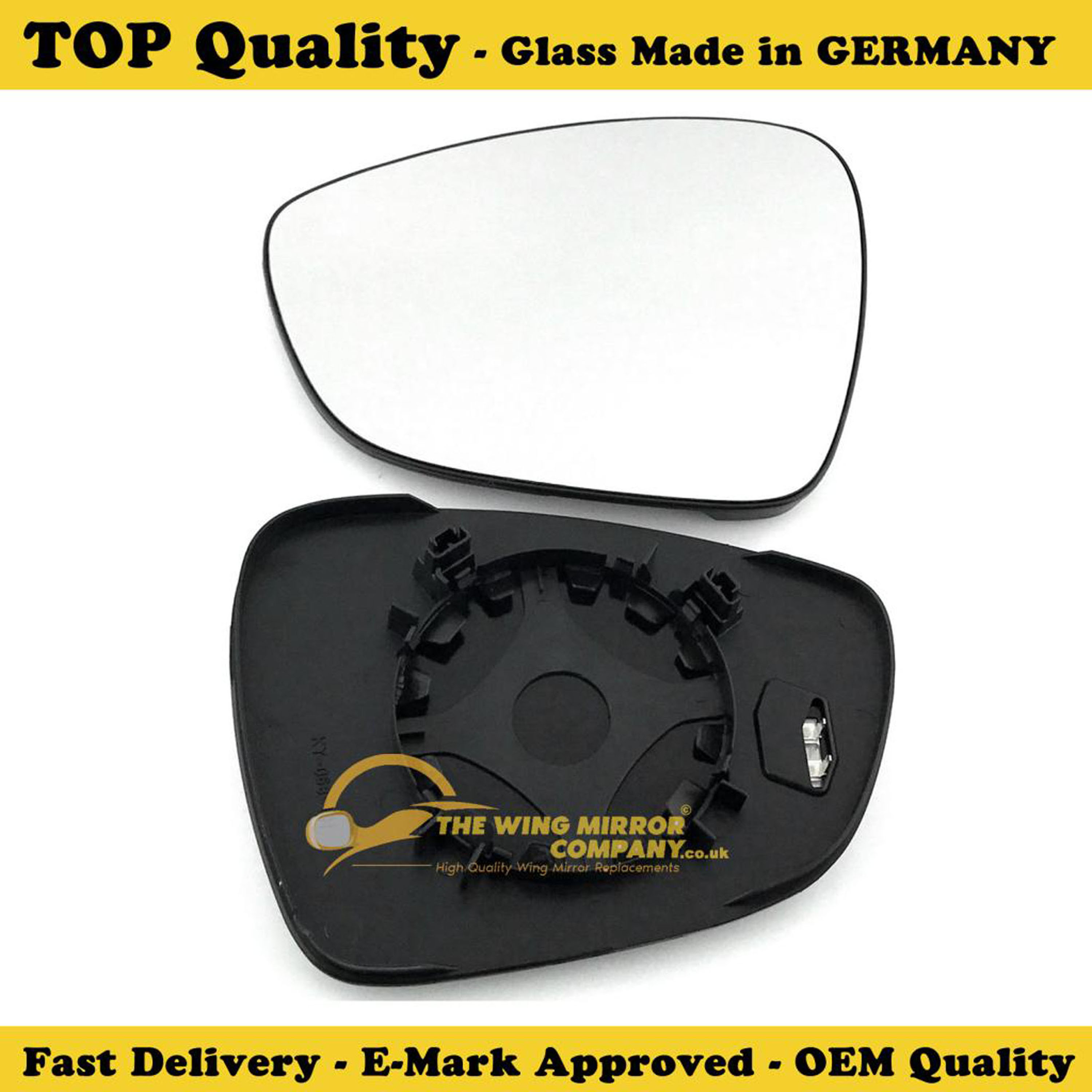 Citroen DS3 Wing Mirror With Base Mirror LEFT HAND 2009 to 2017