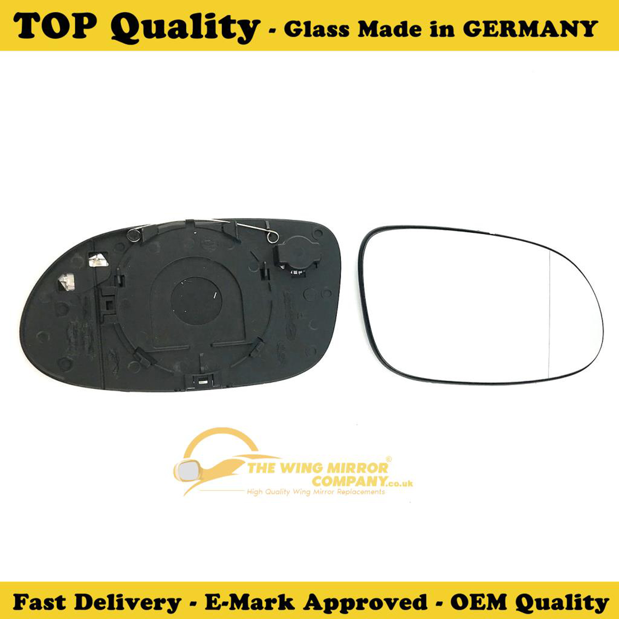 Mercedes CLK C208 1997-2003 Wing Mirror Glass O//S Drivers Side Right
